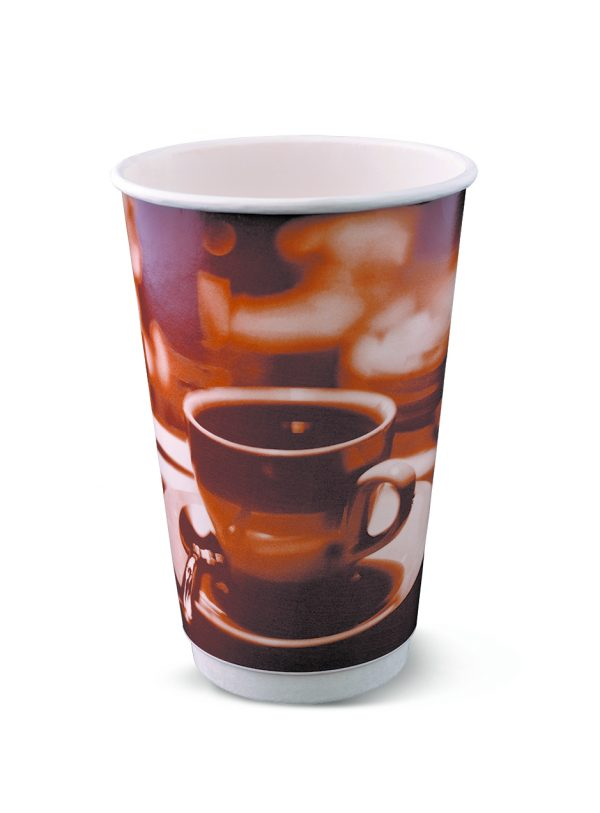R018S0020_16oz Smooth double wall hot cup_brown classic_SML
